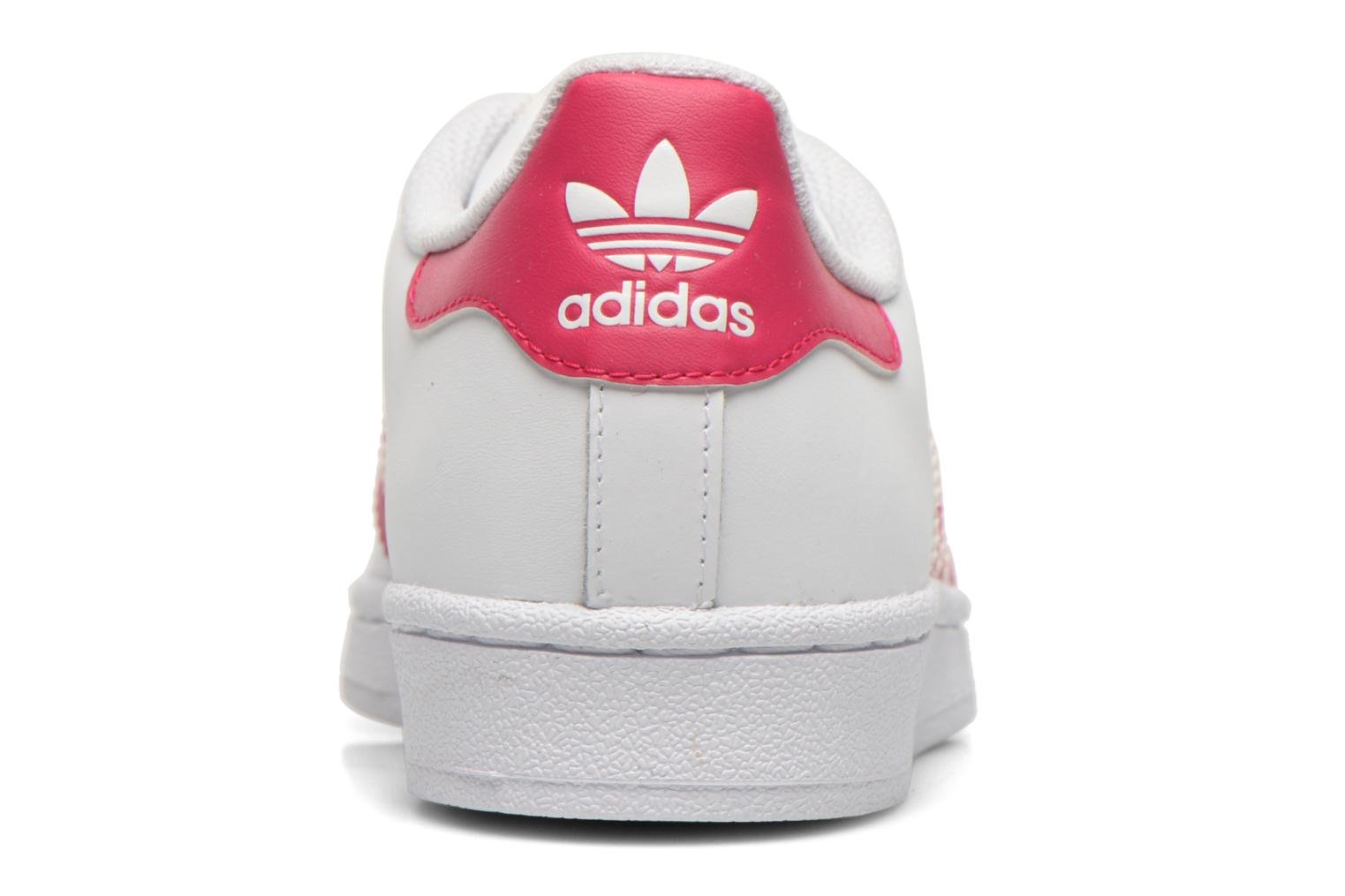Sneakers Adidas Originals Superstar Foundation J Bianco immagine destra