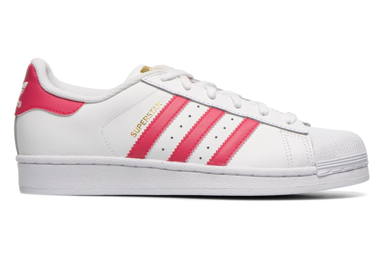 Sneakers Adidas Originals Superstar Foundation J Bianco immagine posteriore