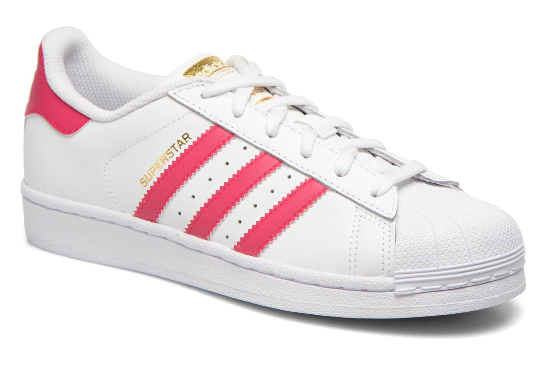 Adidas Originals Superstar Foundation J (Blanc) - Baskets chez Sarenza  (231092) d8ae823ac294