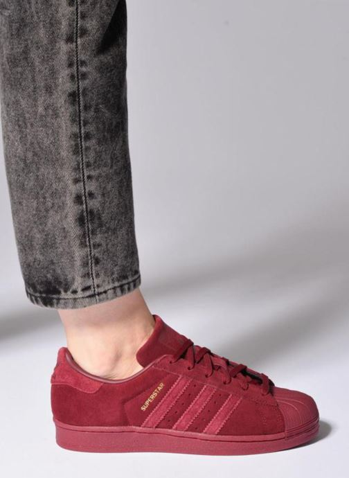 Sneakers adidas originals SUPERSTAR J Wit onder