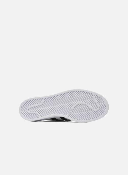 Sneakers adidas originals SUPERSTAR J Wit boven