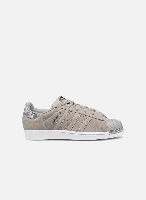 Sneakers adidas originals SUPERSTAR J Grijs achterkant