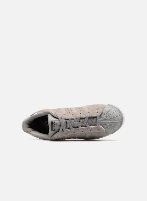 Sneakers adidas originals SUPERSTAR J Grijs links
