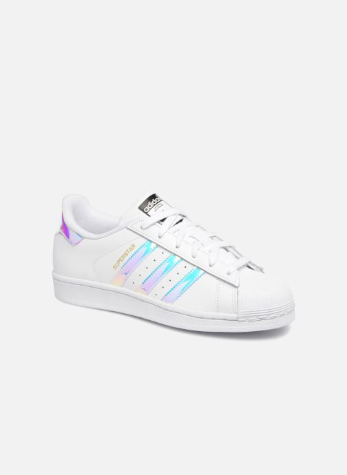 adidas originals SUPERSTAR J (Bianco) Sneakers chez
