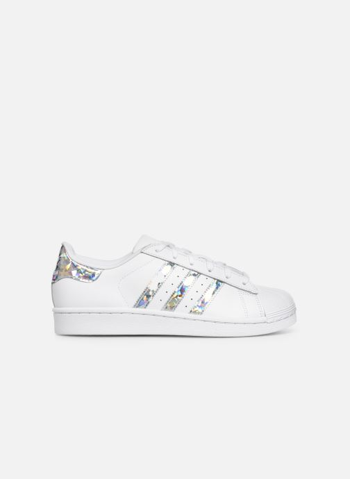 Sneakers adidas originals SUPERSTAR J Bianco immagine posteriore