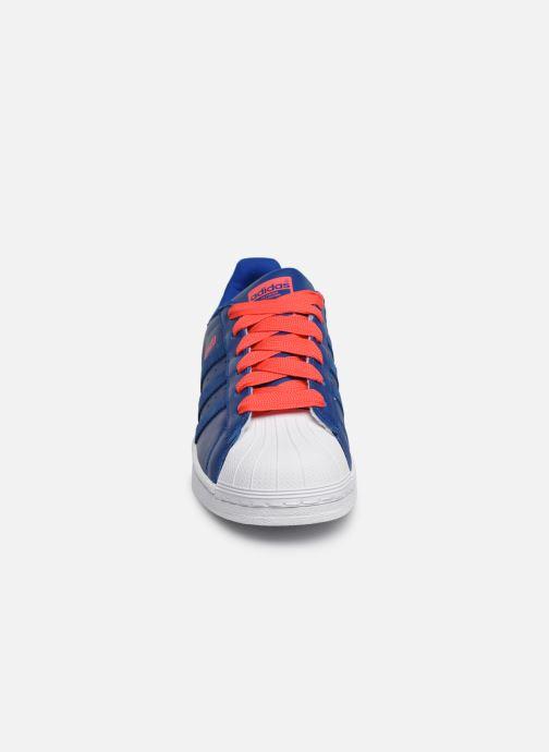 Sneakers Adidas Originals SUPERSTAR J Blå bild av skorna på