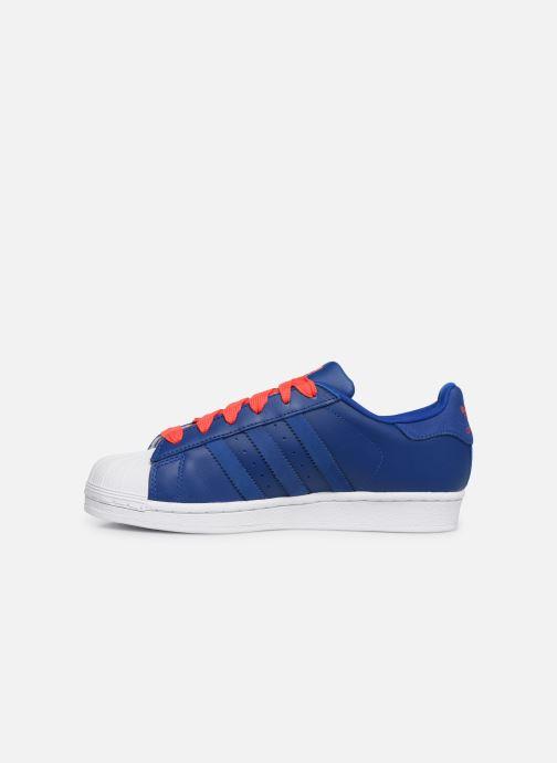 Sneakers adidas originals SUPERSTAR J Blå bild från framsidan