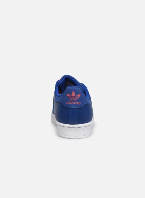 Sneakers Adidas Originals SUPERSTAR J Blå Bild från höger sidan