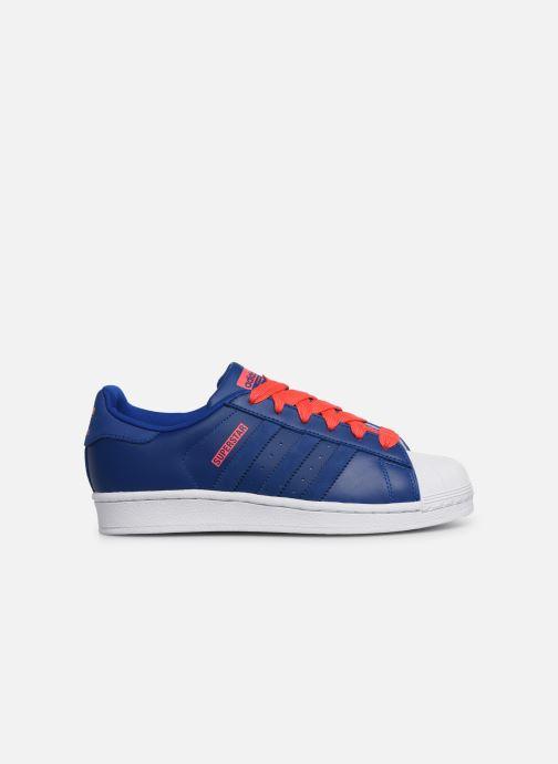 Sneakers adidas originals SUPERSTAR J Blå bild från baksidan