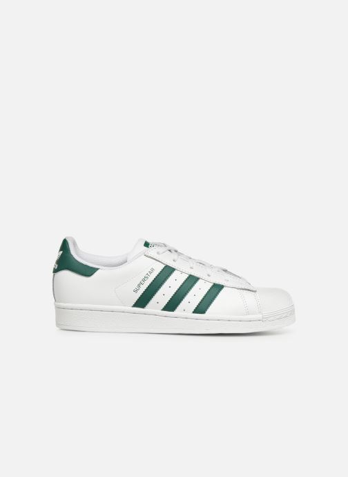 Sneakers adidas originals SUPERSTAR J Bianco immagine posteriore