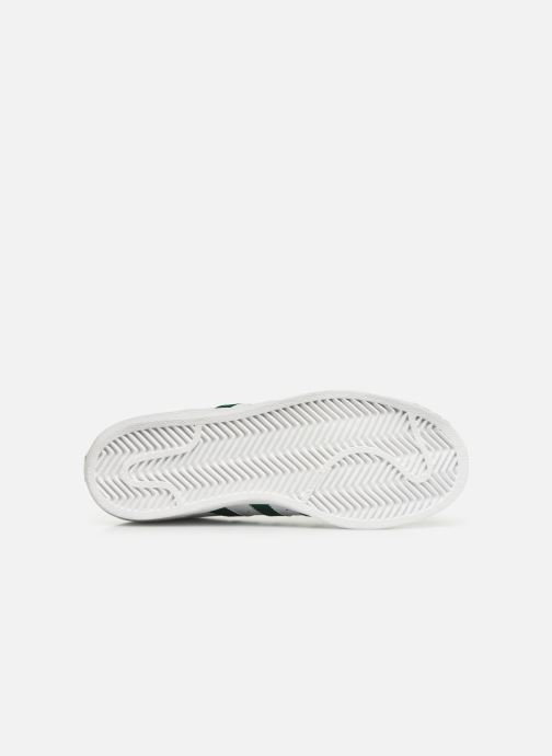 Trainers adidas originals SUPERSTAR J White view from above