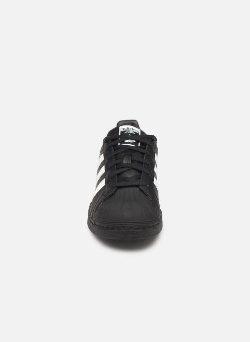 Sneakers adidas originals SUPERSTAR J Zwart model