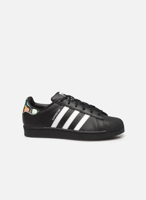 Sneakers adidas originals SUPERSTAR J Zwart achterkant