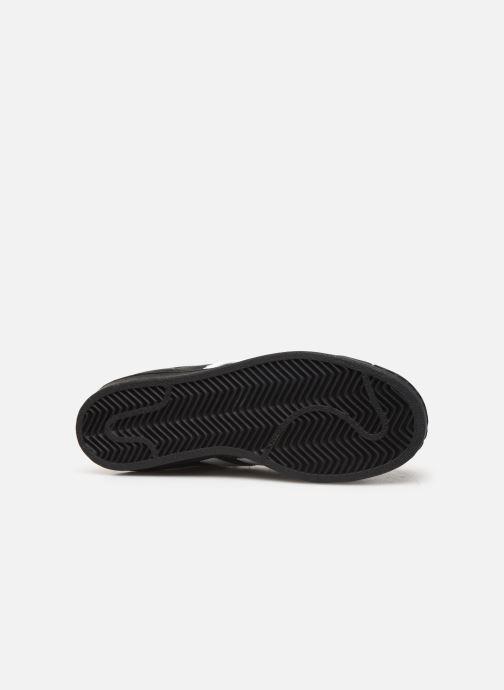 Sneakers adidas originals SUPERSTAR J Zwart boven