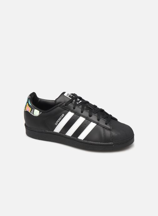 Sneakers adidas originals SUPERSTAR J Zwart detail