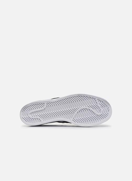 Sneaker adidas originals SUPERSTAR J weiß ansicht von oben