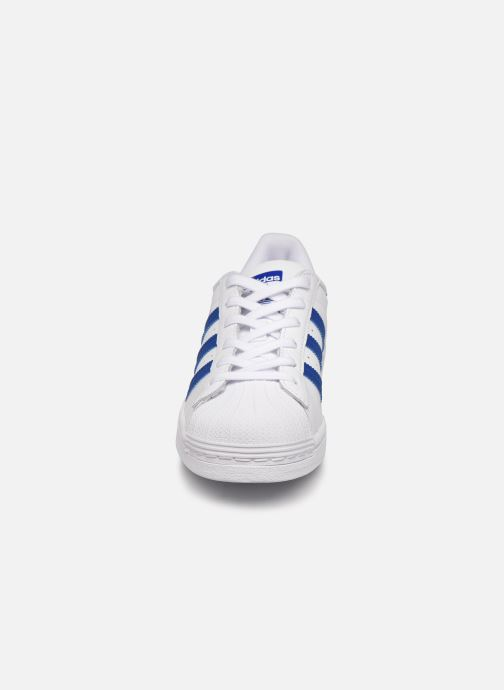Sneakers adidas originals SUPERSTAR J Hvid se skoene på