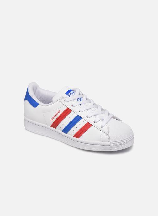 Sneakers adidas originals SUPERSTAR J Bianco vedi dettaglio/paio