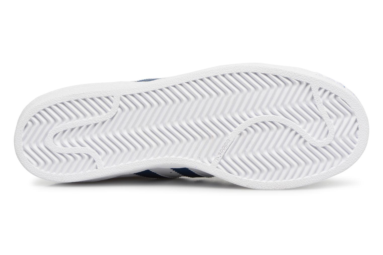Baskets Adidas Originals SUPERSTAR J Blanc vue haut