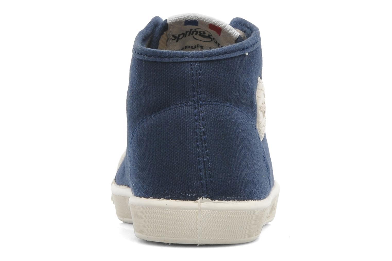 Sneakers Spring Court BE1 Classic Blå Se fra højre
