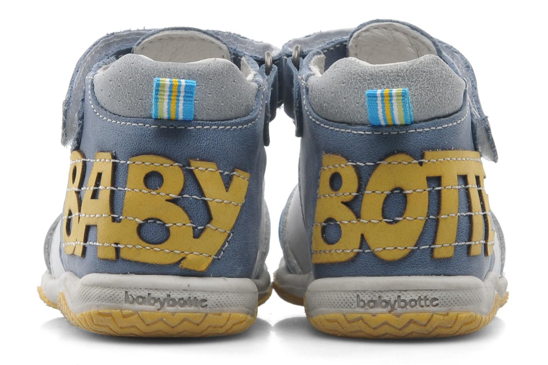 Sandales et nu-pieds Babybotte TICTAK Bleu vue 3/4