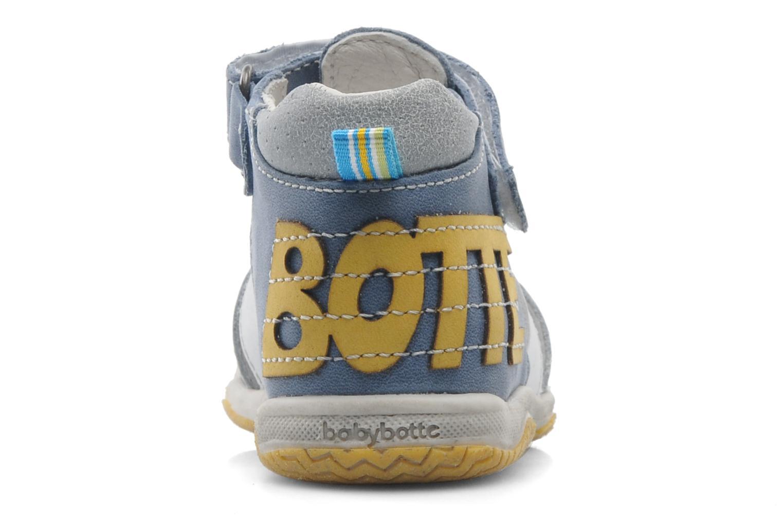 Sandales et nu-pieds Babybotte TICTAK Bleu vue droite