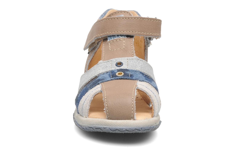 Sandales et nu-pieds Babybotte TICTAK Marron vue portées chaussures