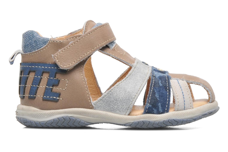 Sandales et nu-pieds Babybotte TICTAK Marron vue derrière