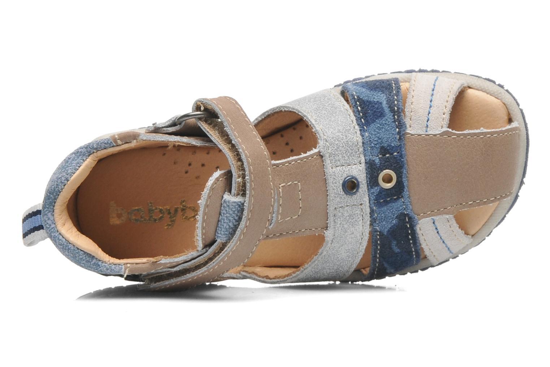 Sandales et nu-pieds Babybotte TICTAK Marron vue gauche