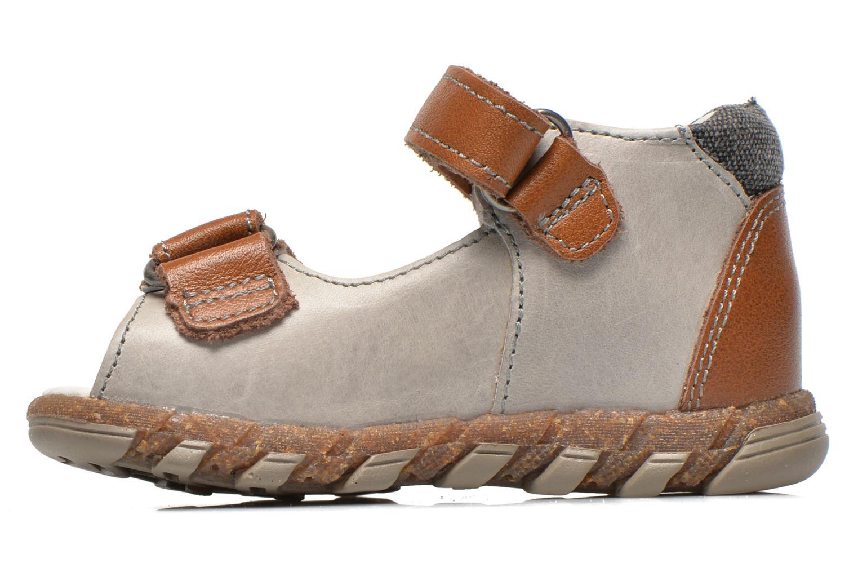 Sandales et nu-pieds Babybotte TONKA Gris vue face