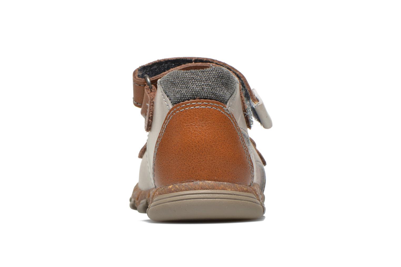 Sandales et nu-pieds Babybotte TONKA Gris vue droite