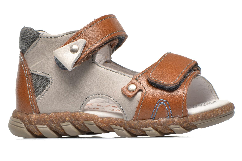 Sandales et nu-pieds Babybotte TONKA Gris vue derrière