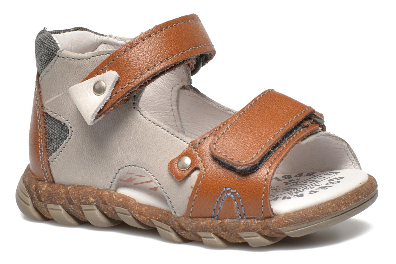 Sandales et nu-pieds Babybotte TONKA Gris vue détail/paire