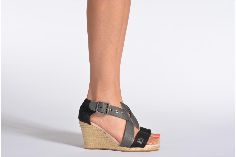 Sandaler G-Star Aria Wedge Salon Strap Grå bild från under