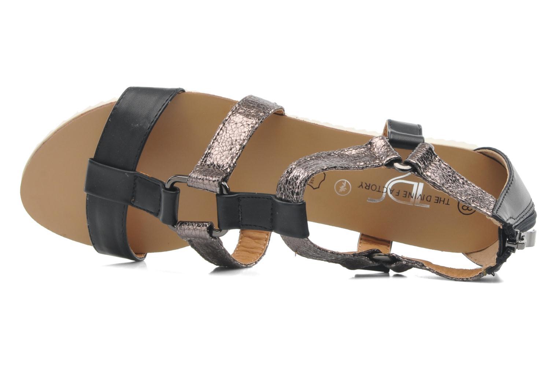 Sandales et nu-pieds Divine Factory Acrux Multicolore vue gauche