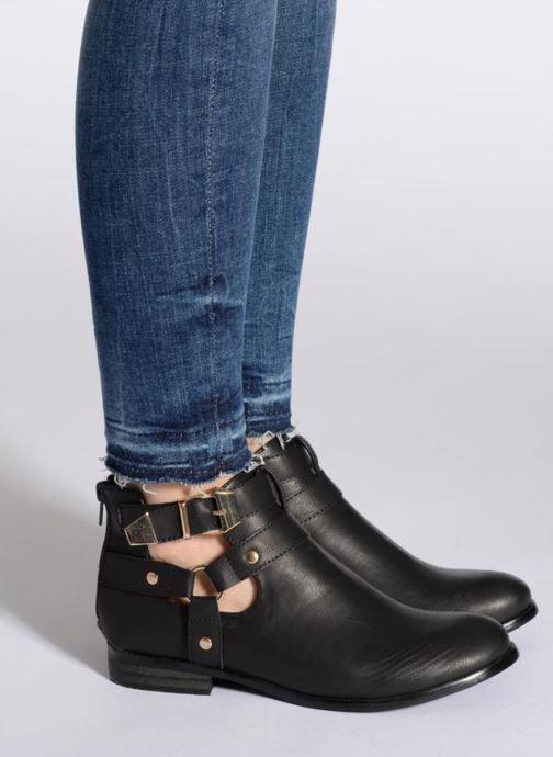 Stiefeletten & Boots Divine Factory Akruks schwarz ansicht von unten / tasche getragen