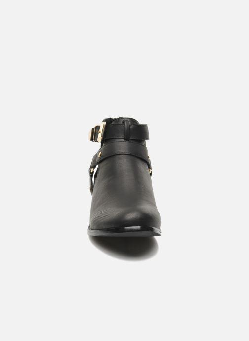 Bottines et boots Divine Factory Akruks Noir vue portées chaussures