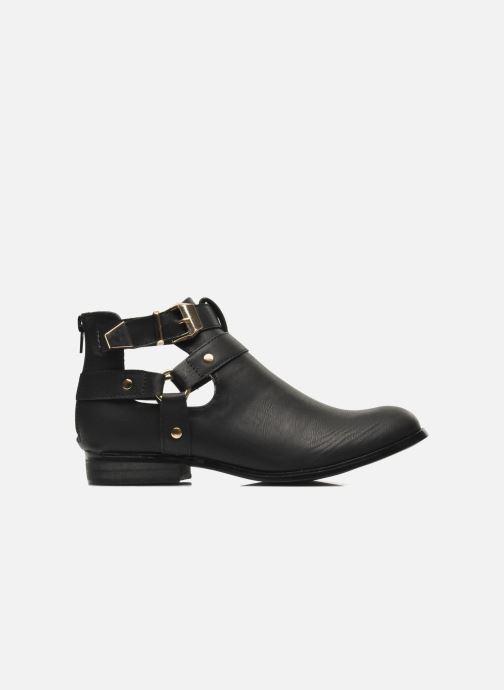 Bottines et boots Divine Factory Akruks Noir vue derrière