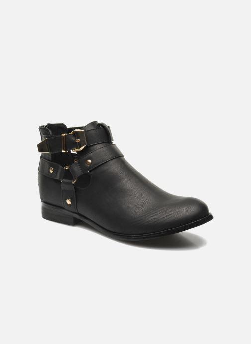 Bottines et boots Divine Factory Akruks Noir vue détail/paire