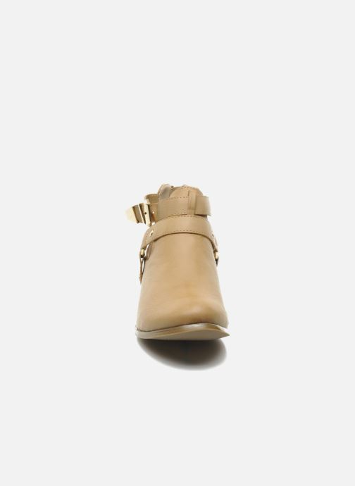 Stiefeletten & Boots Divine Factory Akruks beige schuhe getragen