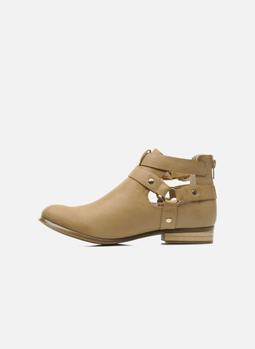 Stiefeletten & Boots Divine Factory Akruks beige ansicht von vorne