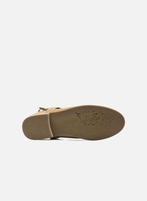 Stiefeletten & Boots Divine Factory Akruks beige ansicht von oben