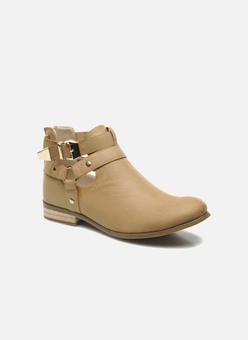 Stiefeletten & Boots Divine Factory Akruks beige detaillierte ansicht/modell