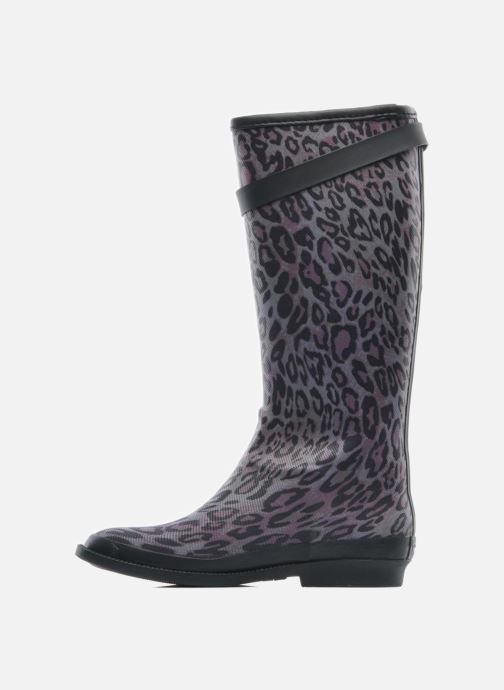 Stiefel Be Only Cavaliere Reptilium schwarz ansicht von vorne