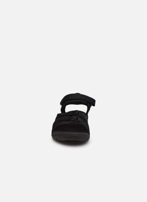 Sandalen Teva Tirra W schwarz schuhe getragen