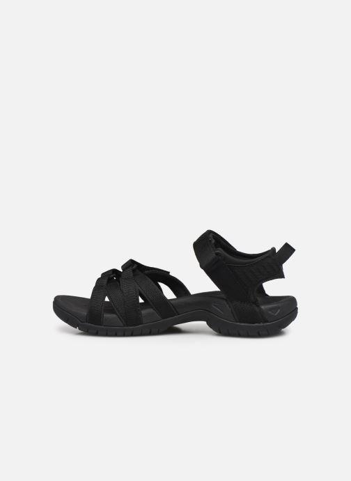 Sandalen Teva Tirra W schwarz ansicht von vorne