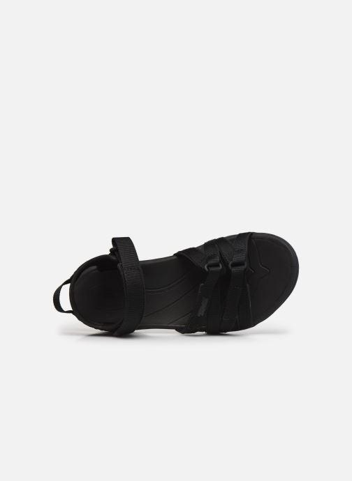 Sandalen Teva Tirra W schwarz ansicht von links