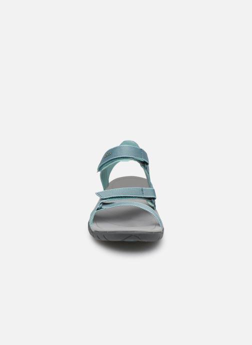 Chaussures de sport Teva Verra W Bleu vue portées chaussures