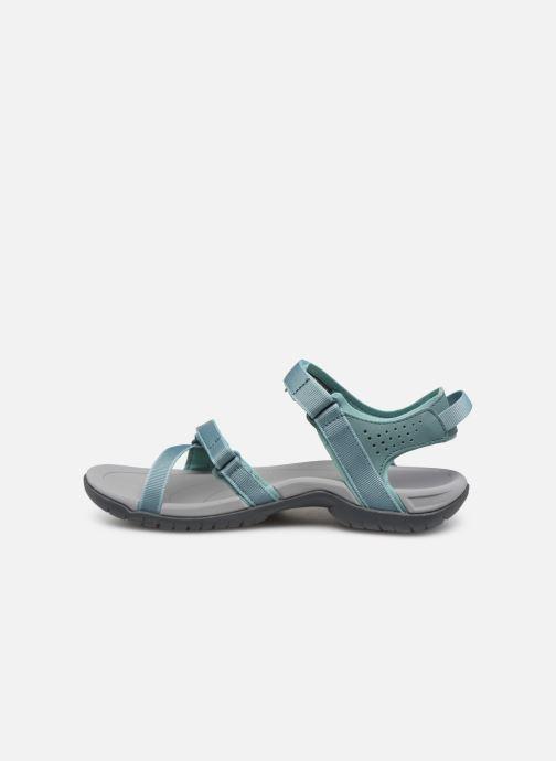 Zapatillas de deporte Teva Verra W Azul vista de frente