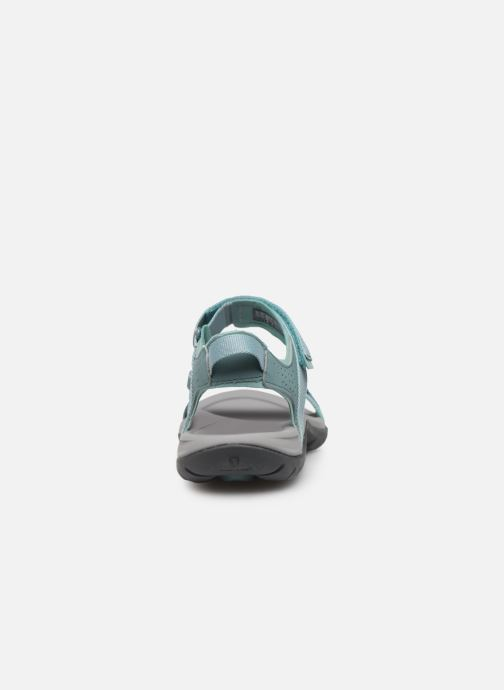 Zapatillas de deporte Teva Verra W Azul vista lateral derecha